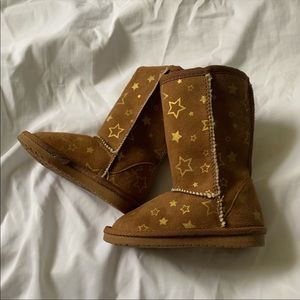 Little Girl Star Boots